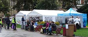 Reading Town Meal in Forbury Gardens